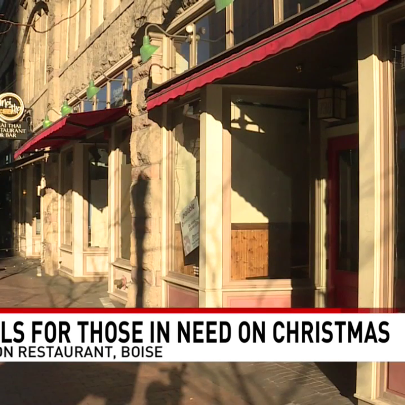 Christmas Day Buffet On Christmas Day Boise Id 2021 New Boise Restaurant Handing Out Free Meals To Those In Need On Christmas Day Kboi
