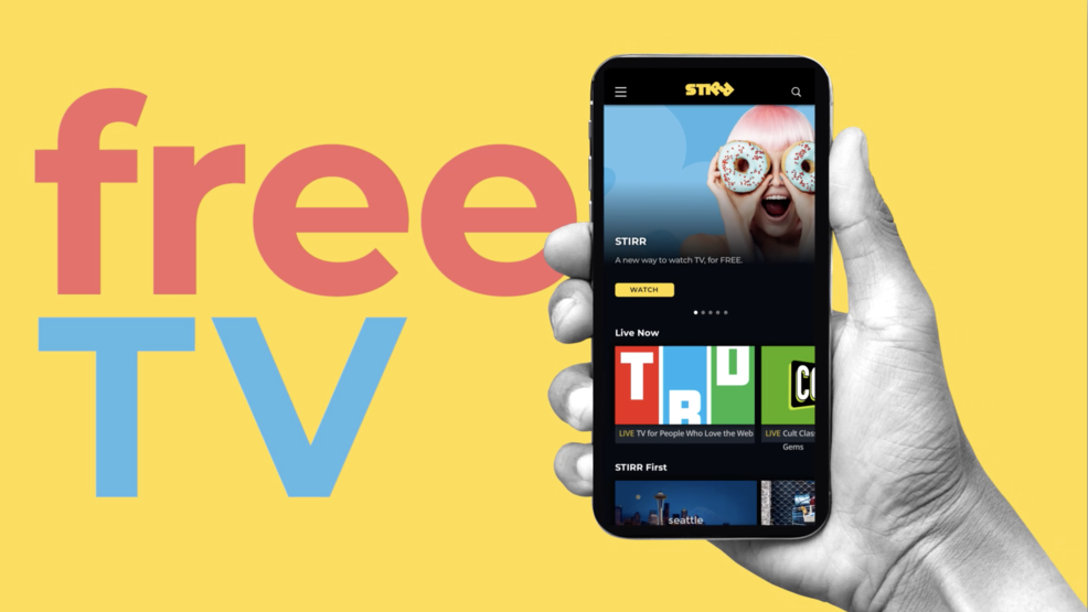 Download the free STIRR app and enjoy TV shows, movies and