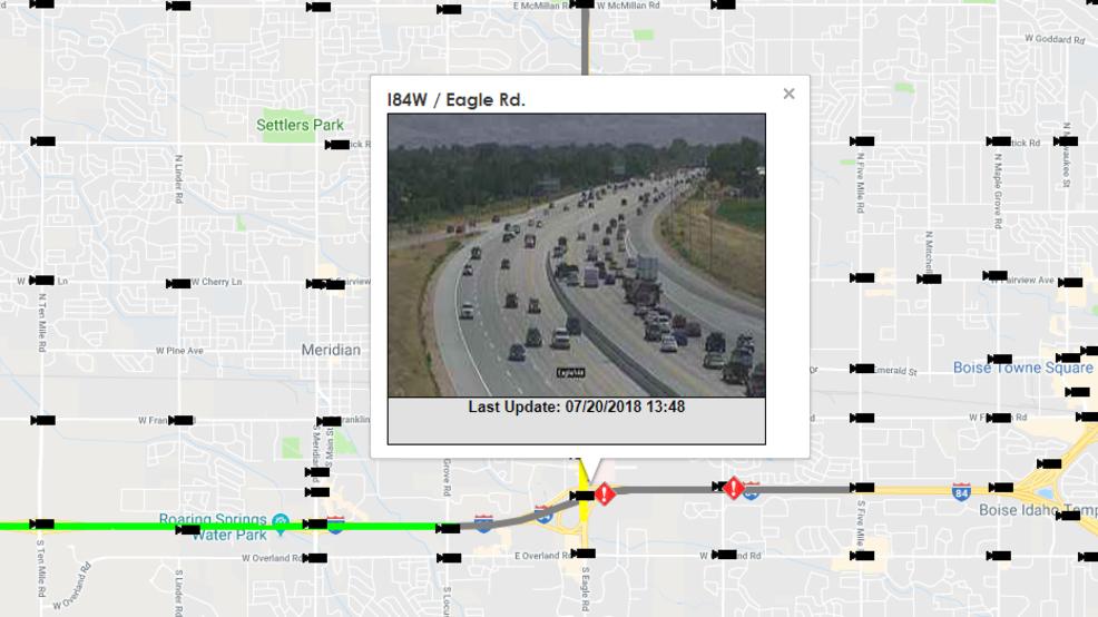 Traffic Alert: Eastbound I-84 lanes open after crash near