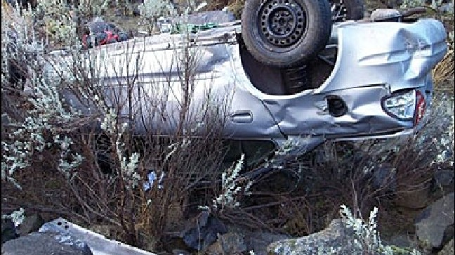 Car goes off cliff in Oregon, comes to rest on victim's head | KBOI