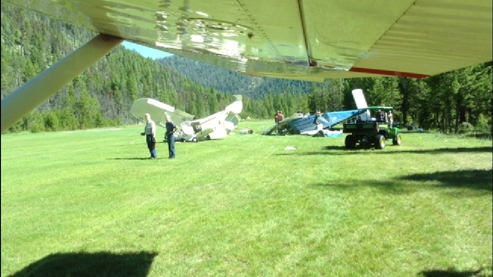 2-year-old dead after plane crash at Idaho mountain air