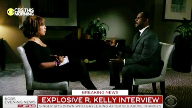 R  Kelly interview becomes a spotlight moment for Gayle King