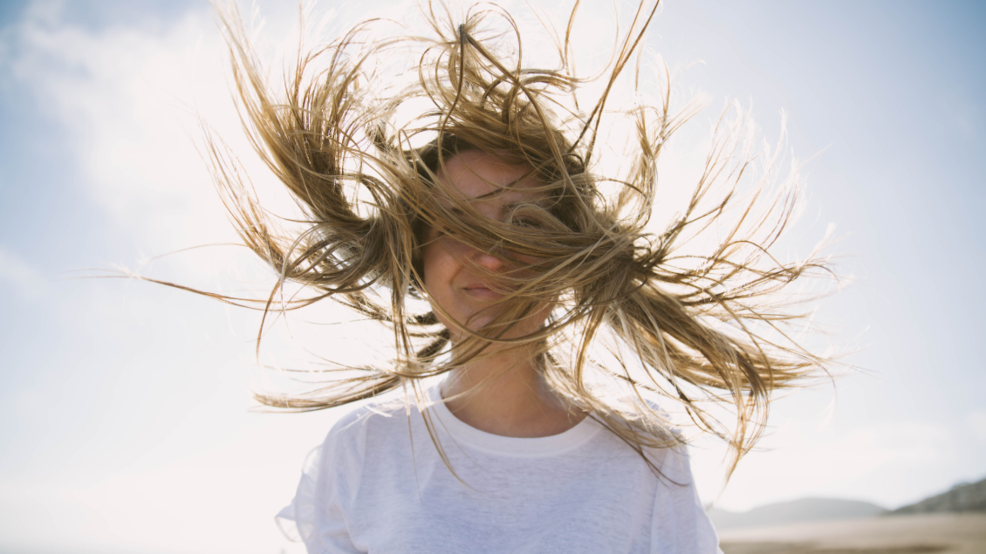 Image result for windy hair