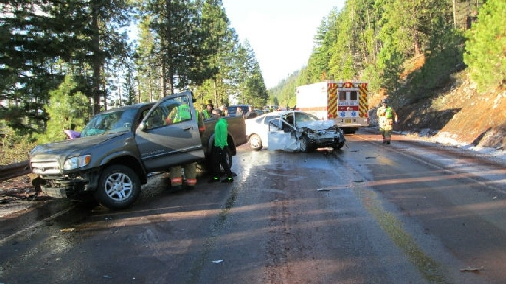 Boise woman hurt in head-on crash on Oregon highway | KBOI