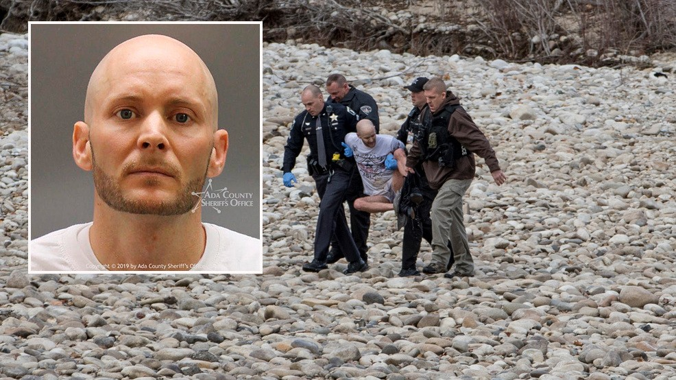 Sheriff: Man who jumped in Boise River was released from