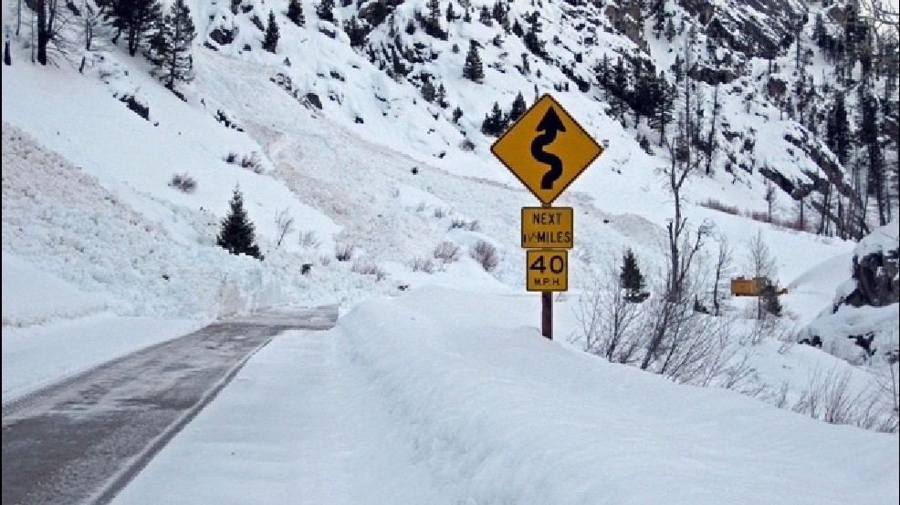 Avalanche threat to close notorious stretch of Highway 21 | KBOI